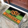 "NCAA Oklahoma State Cowboys Crumb Rubber Door Mat 18""x30"" - image 2 of 4"