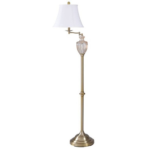 Delia Armed Floor Lamp Gold (Includes Light Bulb) - StyleCraft - image 1 of 1