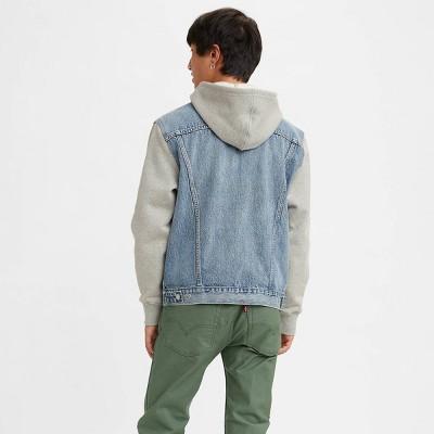 Levi's® Men's Hybrid Hoodie V Trucker Jacket