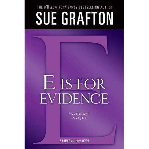 """""""e"""" Is for Evidence - (Kinsey Millhone Mysteries (Paperback)) by  Sue Grafton (Paperback) - image 1 of 1"""
