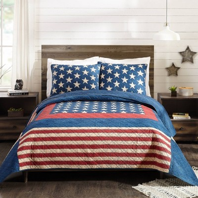 Modern Heirloom Americana Patch Quilt Sets