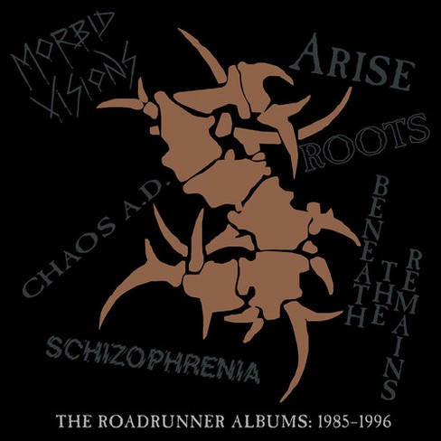 Sepultura - Roadrunner Albums:1985-1996 (CD) - image 1 of 1