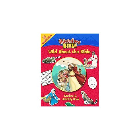 Wild about the Bible Sticker and Activity Book - (Adventure Bible) by  Zondervan (Paperback) - image 1 of 1