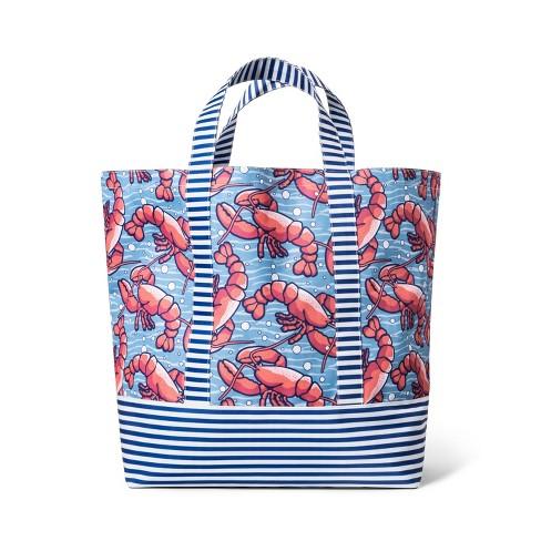 d9ce6b71feb3 Pink Whale Beach Tote Bag - Navy - vineyard vines® for Target