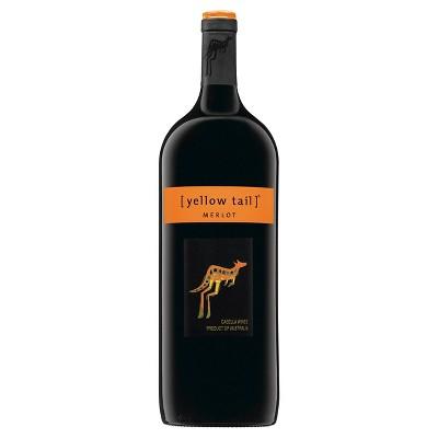 Yellow Tail Merlot Red Wine - 1.5L Bottle