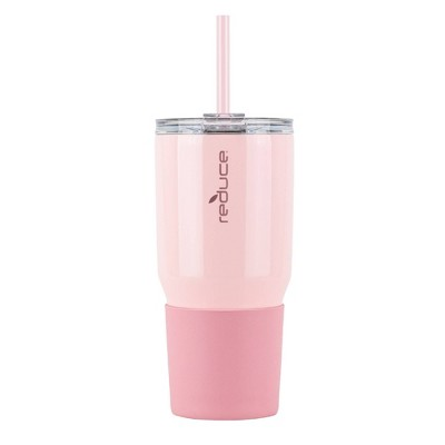 Reduce 34oz Cold1 Insulated Stainless Steel Straw Tumbler with Silicone Grip