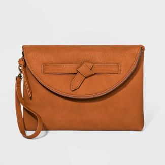 Knotted Clutch Wristlet - Universal Thread™ Brown