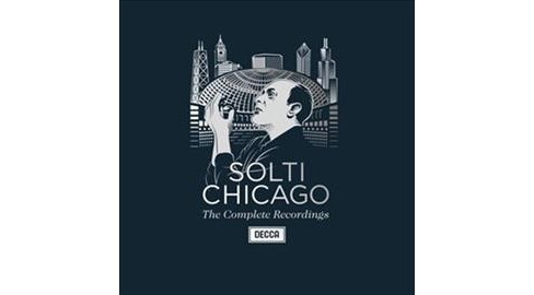 Georg Solti - Sir Georg Solti:Complete Chicago Reco (CD) - image 1 of 1