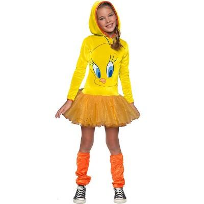 Looney Tunes Tweety Girl Child Costume