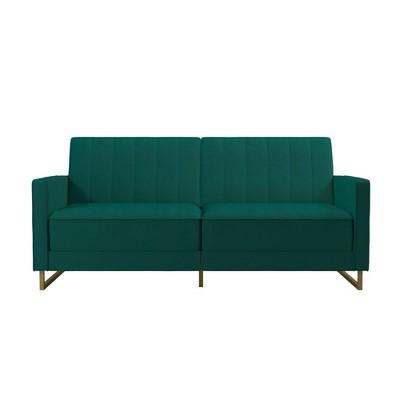 Skylar Coil Futon Modern Sofa Bed and Couch - Novogratz