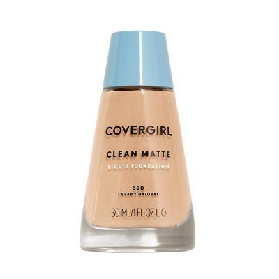 Face Makeup: Covergirl Clean Matte Liquid Foundation