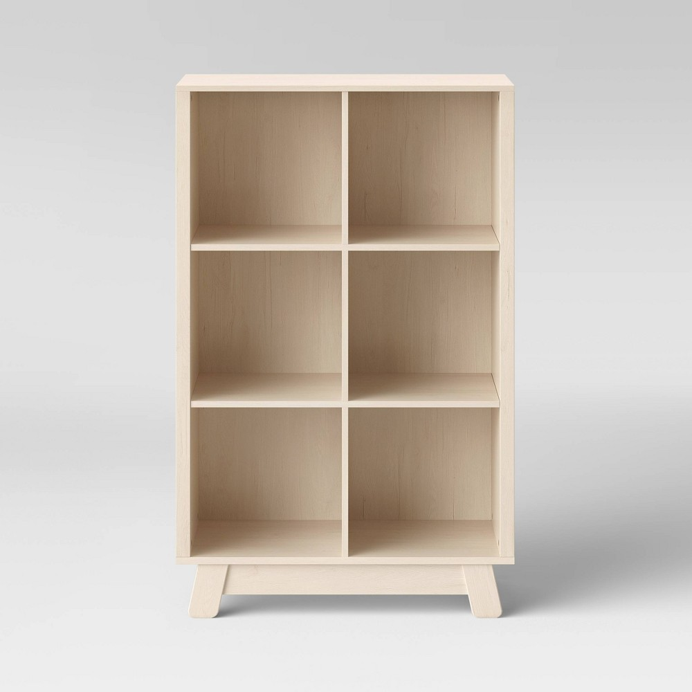 Image of Babyletto Hudson Cubby Bookcase - Washed Natural