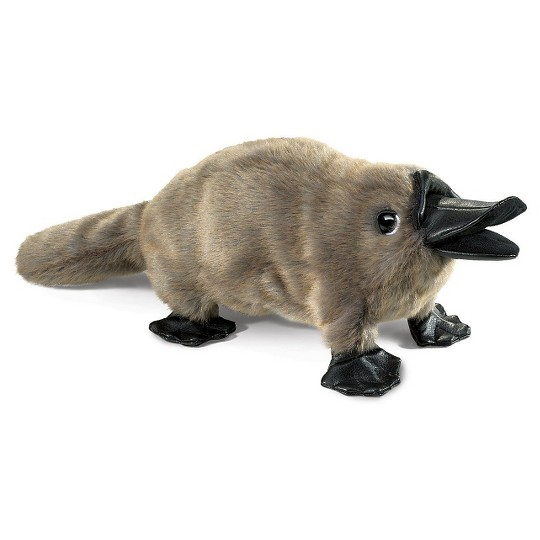 Folkmanis Baby Platypus Hand Puppet image number null