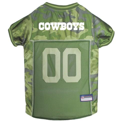 NFL Pets First Camo Pet Football Jerseys - Dallas Cowboys - image 1 of 2