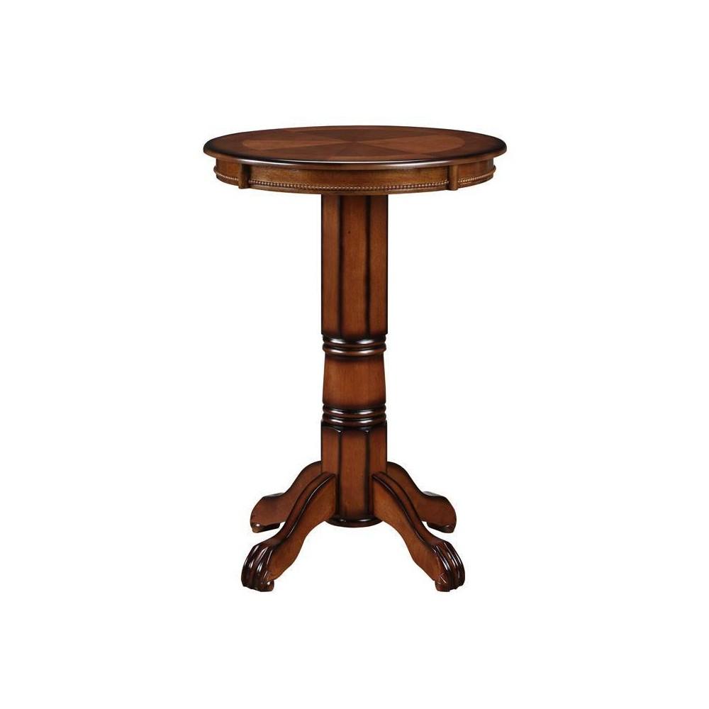 Florence Pedestal Bar Height Table - Boraam Industries Best