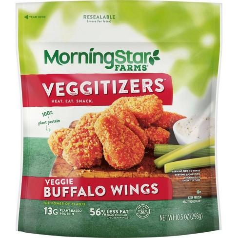 Morningstar Farms Veggie Classics Frozen Buffalo Wings - 10.5oz - image 1 of 4