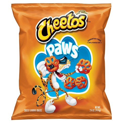 Cheetos Paws Cheese Flavored Snacks - 2.625oz - image 1 of 1