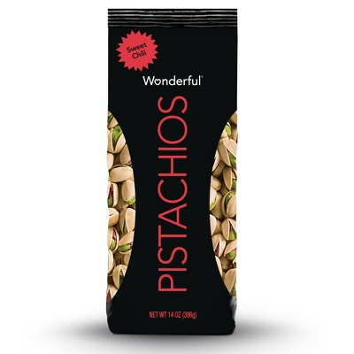 Wonderful Flavored Pistachios Sweet Chili - 14oz