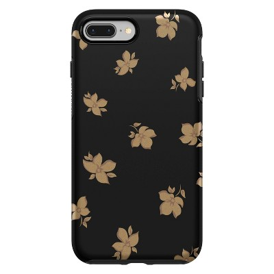 Otterbox Apple iPhone Symmetry Phone Case - Gold Flowers