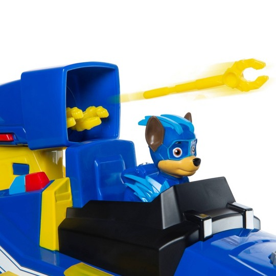 PAW Patrol Mighty Pups Charged Up Transforming Deluxe Vehicle - Chase image number null