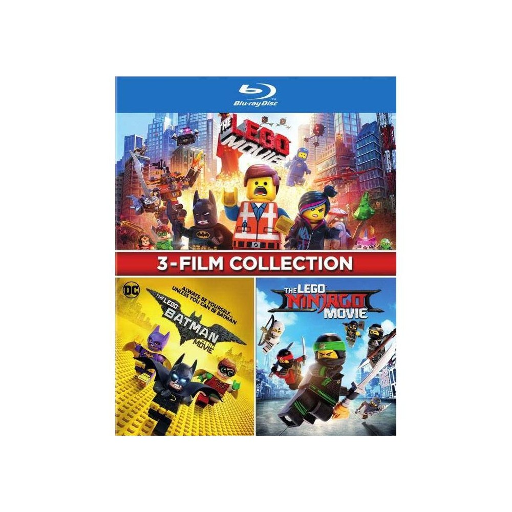 3-film Collection: The Lego Movie / The Lego Ninjago Movie / The Lego Batman Movie (Blu-ray) was $29.99 now $15.0 (50.0% off)