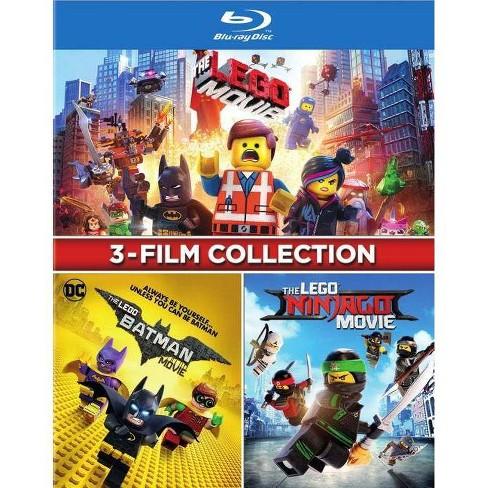 3-film Collection: The Lego Movie / The Lego Ninjago Movie / The Lego Batman Movie (Blu-ray) - image 1 of 1