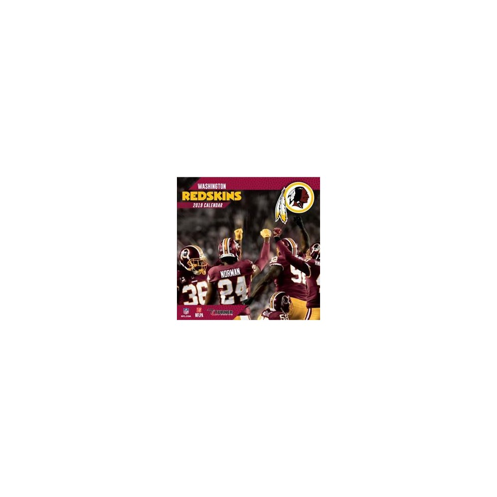 Washington Redskins 2019 Calendar - (Paperback)