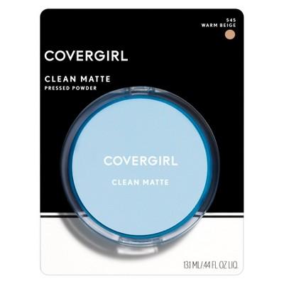 COVERGIRL Clean Matte Powder 545 Warm Beige .35oz