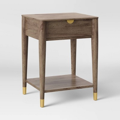 Celsa Wood End Table with Drawer Brown - Opalhouse™