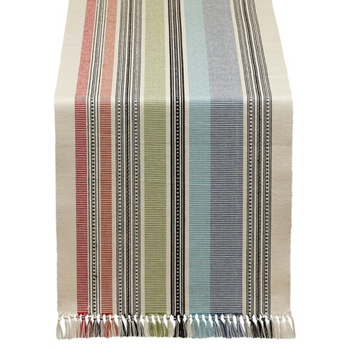 "Stripe Table runner (13""x72"") - Design Imports - image 1 of 2"