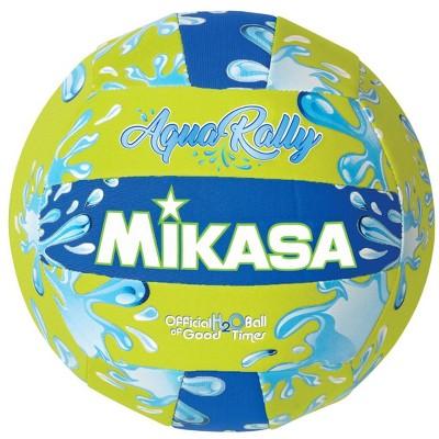 Mikasa Aqua Rally Volleyball, Green Blue