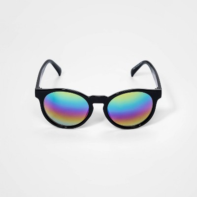 Boys' Round Sunglasses - Cat & Jack™ Black