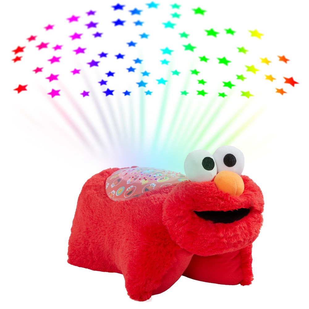 Image of Sesame Street Elmo Sleeptime Lite Plush Nightlight Red - Pillow Pets