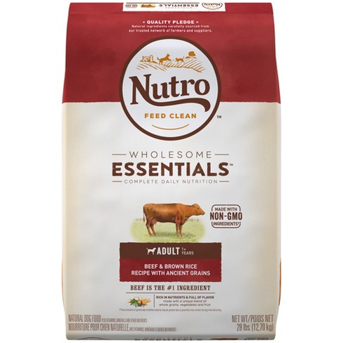Nutro Beef & Brown Rice With Ancient Grains Dry Dog Food - image 1 of 4