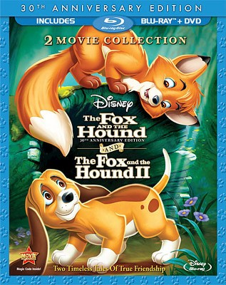 Fox and the Hound/Fox and the Hound II [30th Anniversary Edition] [3 Discs] [Blu-ray/DVD]