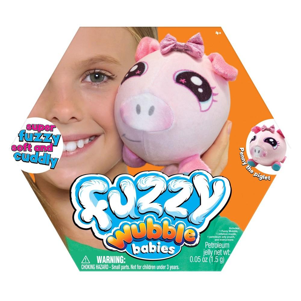 Fuzzy Wubble Babies - Piglet
