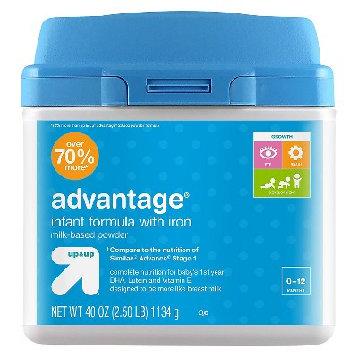 Infant Formula, Advantage - 40oz - Up&Up™