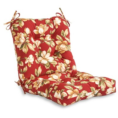 Roma Floral Outdoor Seat and Back Combo Cushion - Kensington Garden