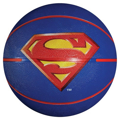 "Franklin Sports Superman Official Size 29.5"" Basketball - Blue - image 1 of 2"