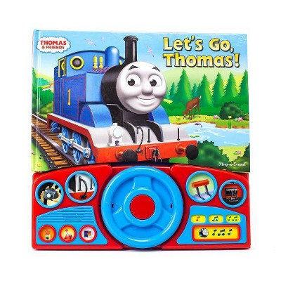 Thomas and Friends - Let's Go Thomas! Interactive Steering Wheel Board Sound Book