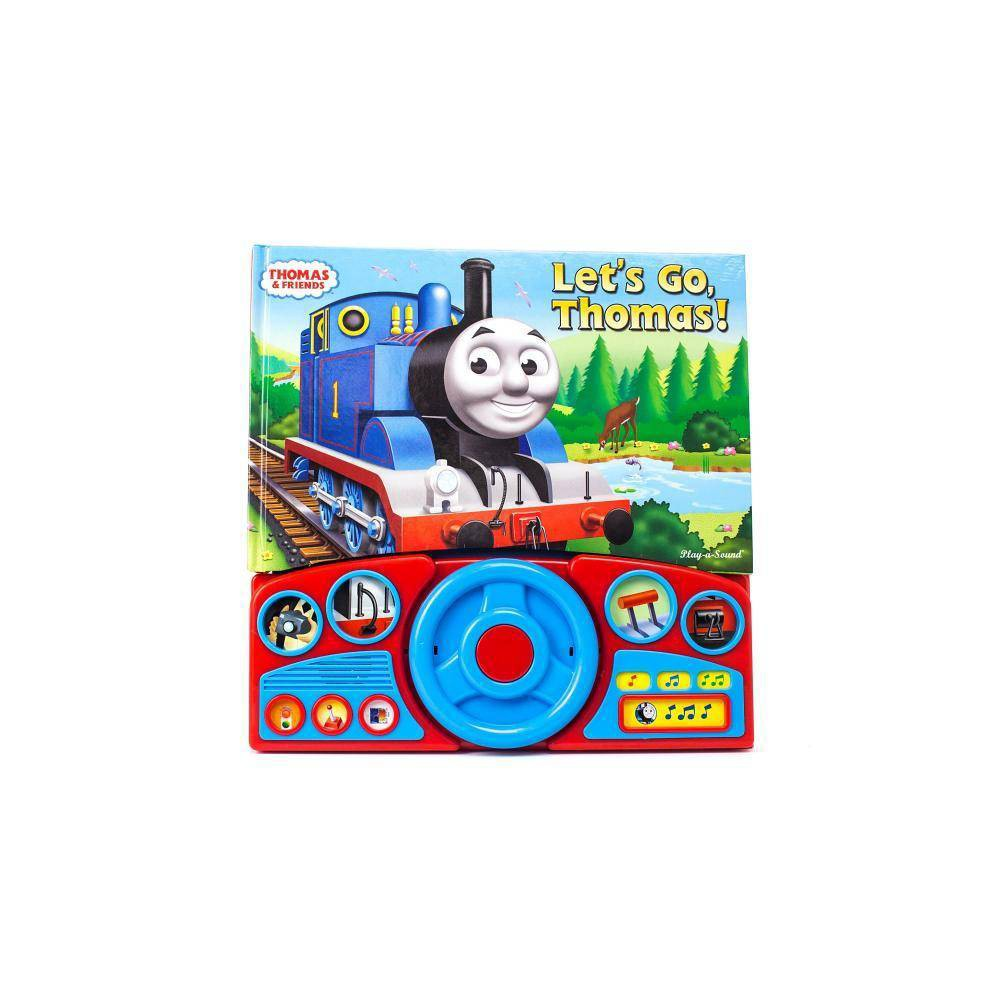 Thomas And Friends Let 39 S Go Thomas Interactive Steering Wheel Board Sound Book