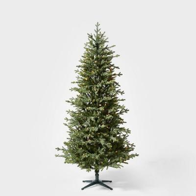 7ft Pre-lit Balsam Fir Artificial Christmas Tree Clear Lights - Wondershop™
