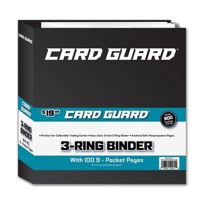 Trading Card Binder: Card Guard Album + 100 Pages