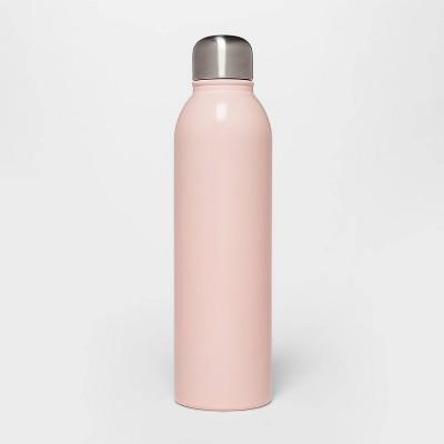 17oz Stainless Steel Water Bottle Pink - Room Essentials™
