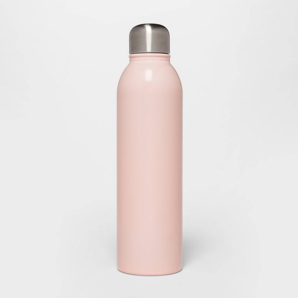 Image of 17oz Stainless Steel Water Bottle Pink - Room Essentials