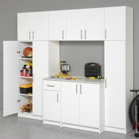 "elite 32"" storage cabinet white - prepac : target"
