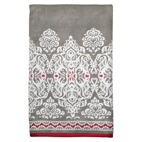 Mendhi Medallion Border Towels - image 1 of 2