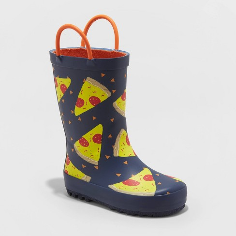 Toddler Boys' Joaquin Rain Boots - Cat & Jack™ Navy - image 1 of 3