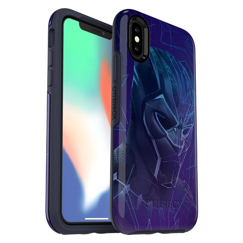 the latest 4f519 7df9d OtterBox Apple iPhone X/XS Marvel Symmetry Case - Black Panther