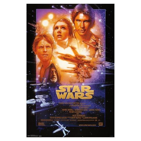 Star Wars Episode 4 Poster 34x22 - Trends International - image 1 of 2